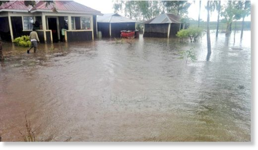 Floods in western Kenya, March 2020