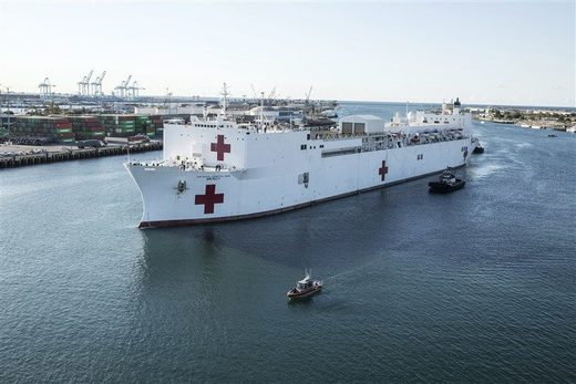 USS Mercy hospital ship