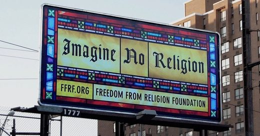 Freedom From Religion Foundation billboard