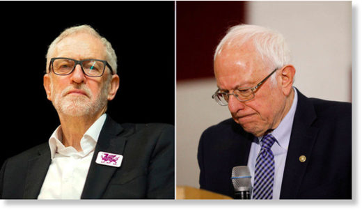 corbyn and bernie sanders