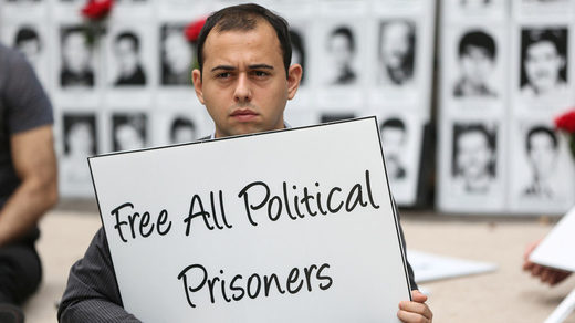 protest free political prisoners