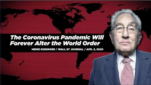 kissinger covid-19 world order