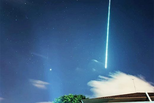 Fireball over Borneo