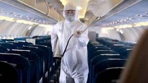 airplane disinfectant covid-19