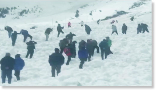 No trace of missing man as more avalanches hit Lahaul