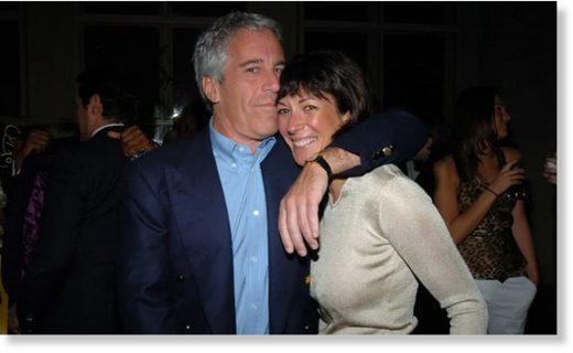 Ghislaine Maxwell with Jeffrey Epstein