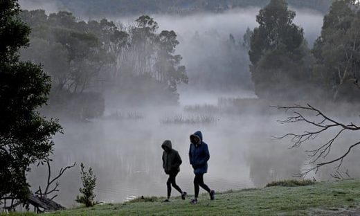 Melbourne and Canberra could record their coldest April days as chilly weather hits Australia's south-east