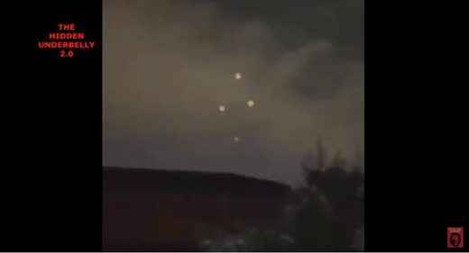UFOs over VA, NV
