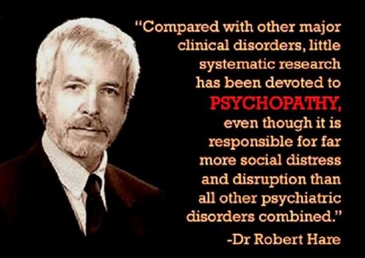 Robert Hare psychopathy research