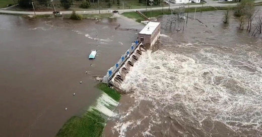 edenville dam flooding michigan
