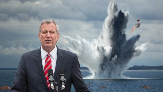 de blasio mine beaches