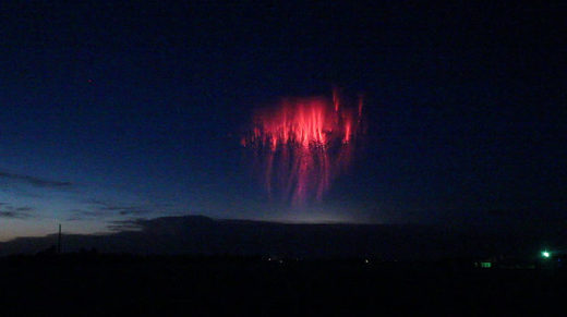 Jellyfish Sprites over Bethune, Colorado