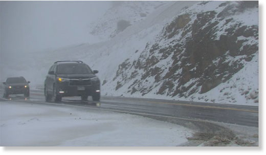 Denver Snow Takes Some By Surprise In Colorado's Foothills & High Country