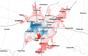 Political demographics Louisville KY