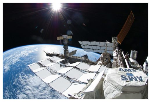 AMS Detector on ISS