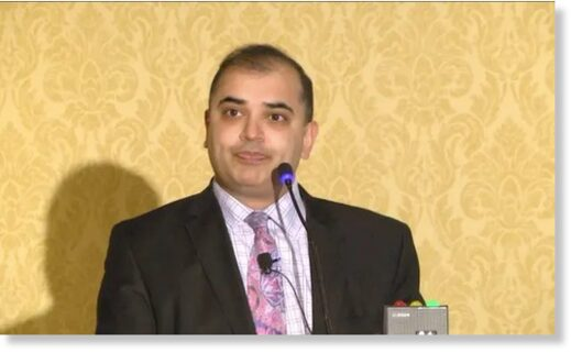 Sapan Desai, the chief executive of Surgisphere.