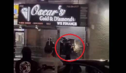 NYPD looting Floyd riots June 2020
