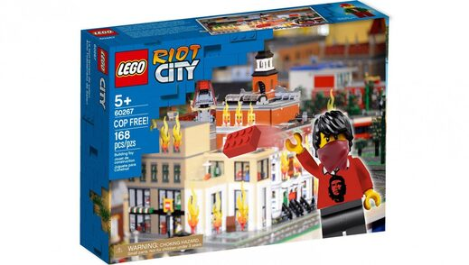 Lego Riot Set Babylon Bee