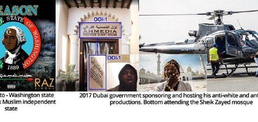 raz mosque helicopter