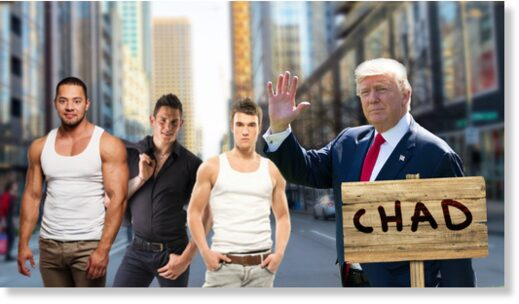 Trump Chad camp