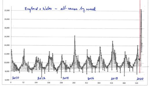 mortality rate UK covid-19