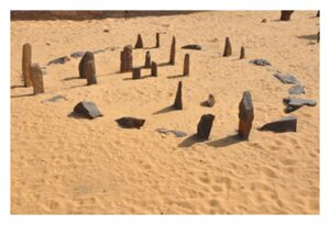 Stone circle of Nabta Playa