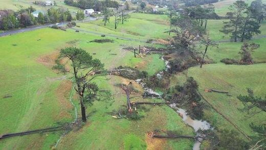 NZ tornado damage