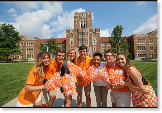 university tennessee students