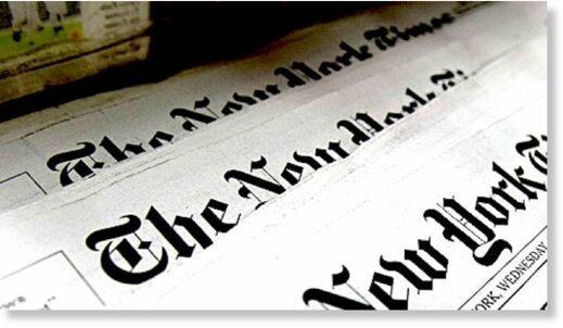 New York Times header