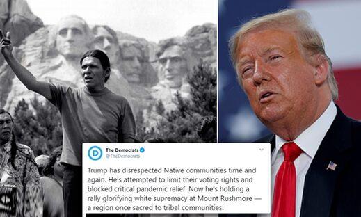 democrats trump rushmore