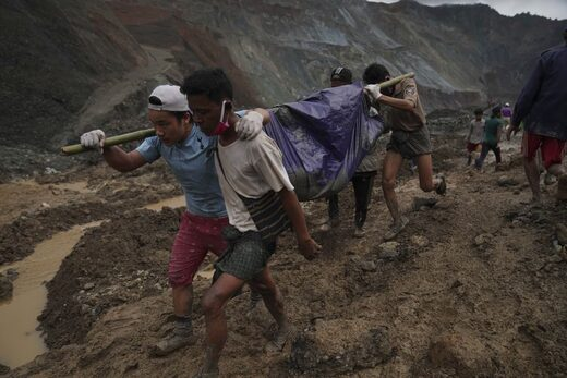 myanmar mine landslide july 2020