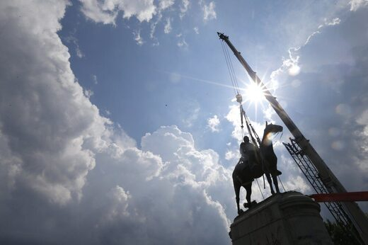 Stonewall Jackson statue removed