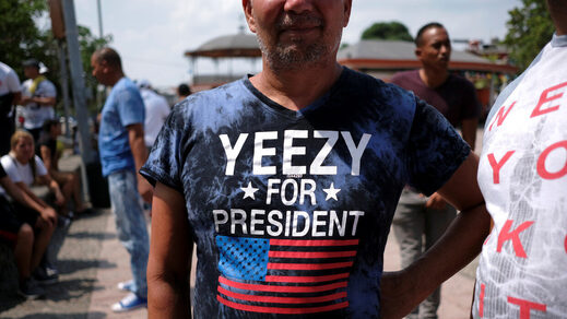 yeezy for president kanye west