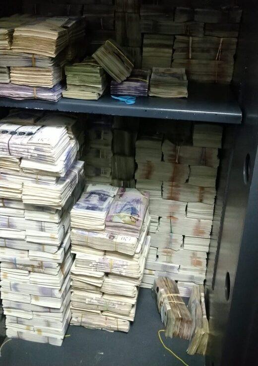 cash seized by law enforcement