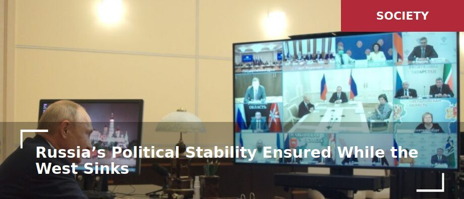 Luongo: Russia's political stability ensured while the West sinks ...