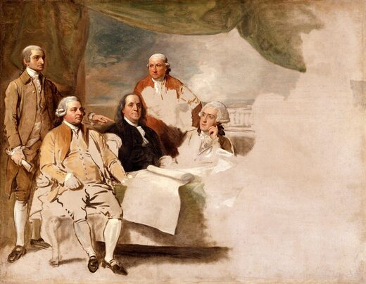 franklin independence painting