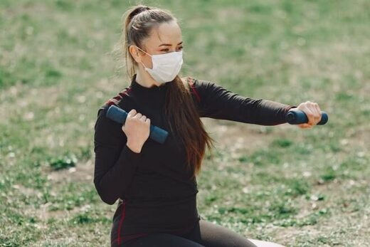 Exercising with face masks on could be dangerous and here's why
