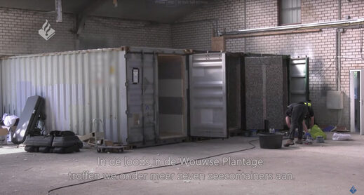 Wouwse Plantage torture chamber containers