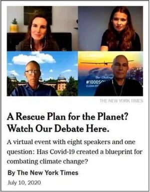 The New Your Times Climate Debate (that never was)