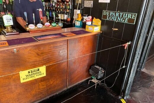 pub electric fence