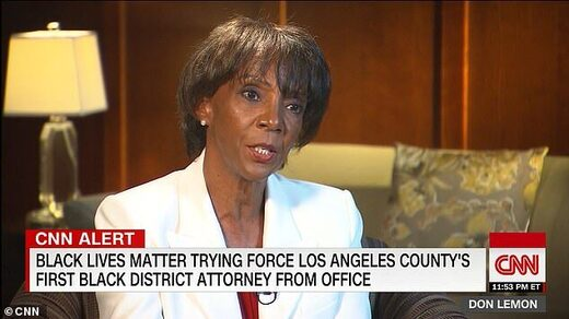 jackie lacey attorney Los angelese BLM