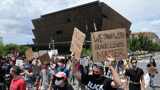 museum african american history protest BLM