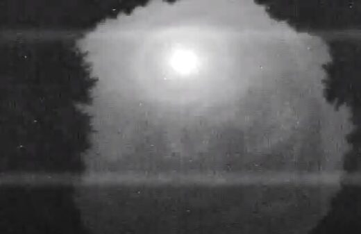 Michigan meteor fireball