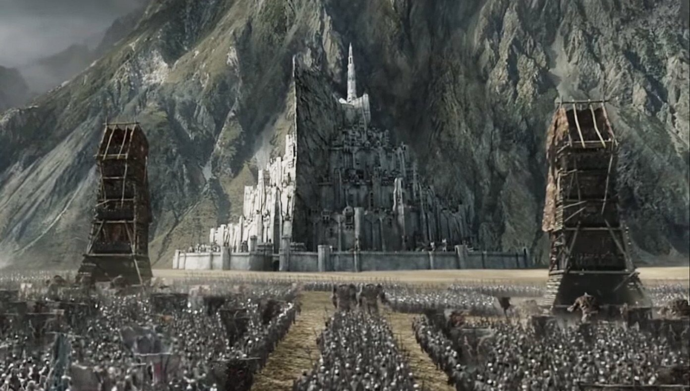 Orcs march on Minas Tirith in mostly peaceful protest