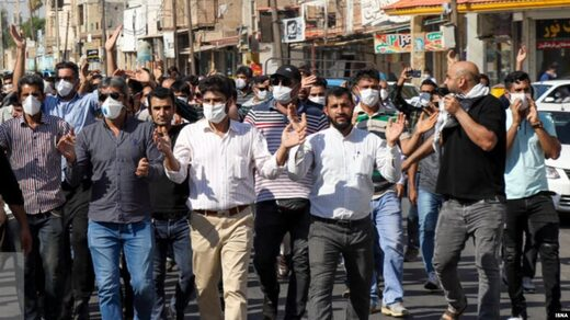 Iran sugar factory workers strike