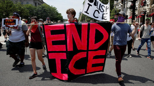 end ice protest