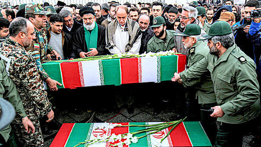 funeral Iranian victims