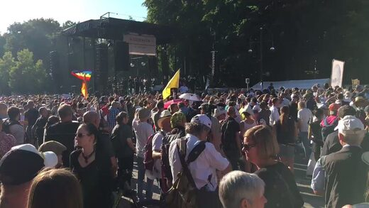 'Our freedom is being stolen': Over a MILLION people protest coronavirus measures in Berlin