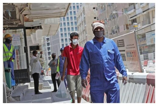 Workers in Doha
