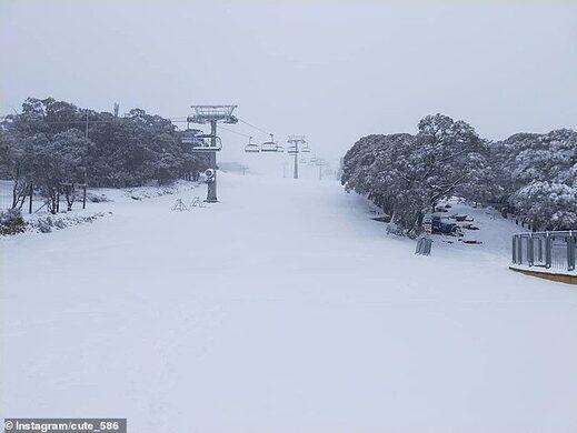 Australia cold front